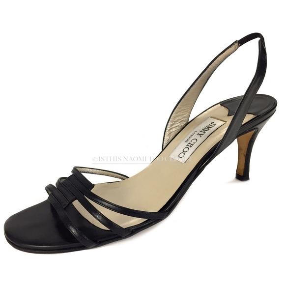 Jimmy Choo Woman Maya Two-tone Woven Leather Sandals Black Size 39.5 Jimmy Choo London jhX8Qh7
